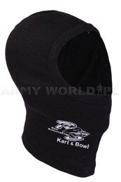 One-Hole Cotton Balaclava K&B Black Used