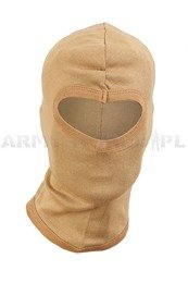 One-hole cotton balaclava Mil-tec New Model Coyote