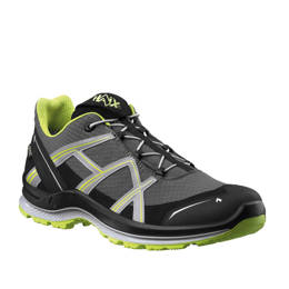 Outdoor Men Shoes Black Eagle Adventure 2.1 Low Haix ® Art. No. 330031 Gore-tex Stone-Citrus New II Quality