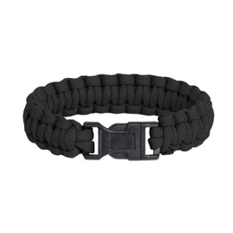 Paracord Bracelet Pselion Pentagon Black New