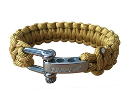 Paracord Bracelet Texar Coyote New