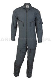 Pilot's Suit Flame-resistant 100% Aramid German Bundeswer Grey Demobil SecondHand