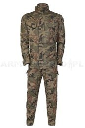 Polish Army Field Uniform Model 124 P/MON Set Of Shirt + Pants Genuine Military Surplus New