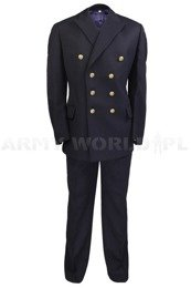 Polish Navy Officer's Uniform 107/MON or 106/MON (Jacket + Pants) Genuine Military Surplus Used II Quality