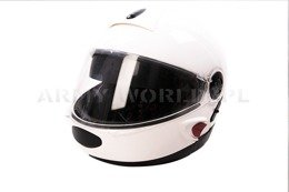 Protective Crash Helmet Schuberth German Police MODEL I Original Good State