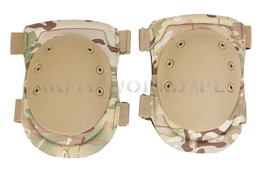 Protective Knee Pads Paintball ASG Mil-tec Multicam/Camogrom New