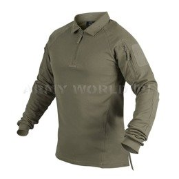 Range Polo Long Sleeve Shirt Helikon-Tex Adaptive Green