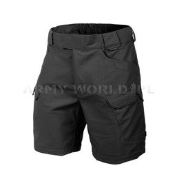 "SHORTS Urban Tactical Shorts Helikon-tex CBlack Ripstop 8.5"" New"