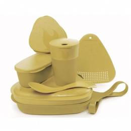 Set Of Containers MealKit Bio Light My Fire Mustyyellow  New
