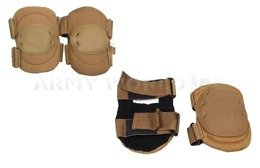 Set Of Knee And Elbow Protectors Coyote Original Used