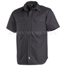 Short Sleeve Tactical Shirt MFH Anthrazit New