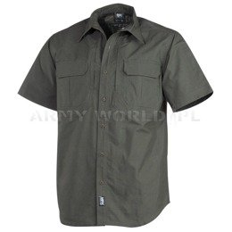 Short Sleeve Tactical Shirt MFH Olive New