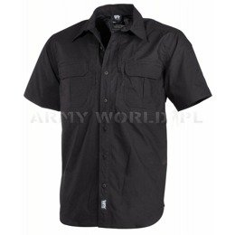 Short Sleeve Tactical Shirt Strike MFH Black New