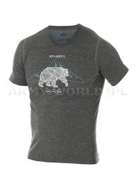 Short Sleeve Thermoactive Shirt  OUTDOOR WOOL Graphite