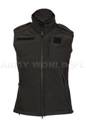Softshell Vest Mil-tec Black New