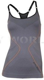 Strap Tank for Ladies Brubeck Fit Balace Grey New SALE