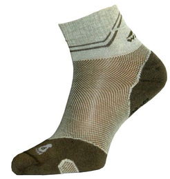 Summer Short Trekking Socks Light Coolmax Wisport Beige New