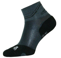 Summer Short Trekking Socks Light Coolmax Wisport Black New