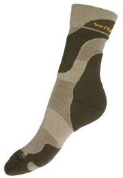 Summer Trekking Socks Coolmax Wisport Beige New