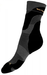 Summer Trekking Socks Coolmax Wisport Black New