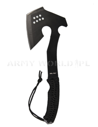 Survival Axe With Paracord Mil-tec Black New