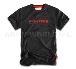 T-shirt Fighters Doberman's Aggressive Czarny Nowy
