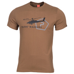 T-shirt Helicopter Pentagon Coyote New