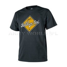 T-shirt Helikon-Tex Road Sign Black