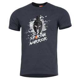 T-shirt Spartan Warrior Pentagon Black New