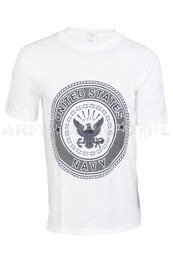 T-shirt United States Navy White Original New