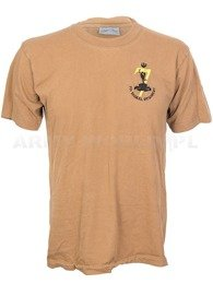 T-shirt With Badge Brown Original Used