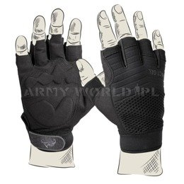 Tactic glovesHFG fingerless gloves Helikon Paintball ASG