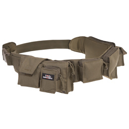 Tactical Belt Tac Maven With Pouches Pentagon Olive New
