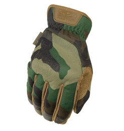 Tactical Gloves Mechanix Wear FastFit Woodland New