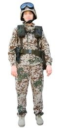 Tactical Instrumentation Bundeswehr 5 pieces Flecktarn Original Demobil SecondHand