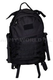 Tactical Military backpack ARMY 35L2-compartments ArmyWorld Black - New