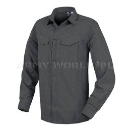 Tactical Shirt Defender Mk2 Gentleman Long Sleeve Helikon-Tex Melange Black-Grey
