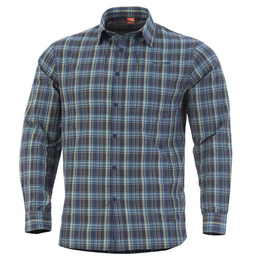 Tactical Shirt QT Pentagon Blue Checks New