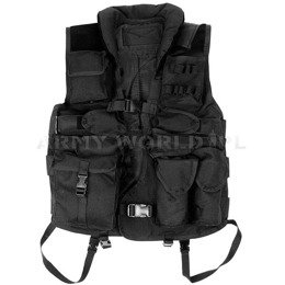 Tactical Vest HD Texar Black New