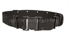 Tactical Webbing Belt US LC-2 Black  Mil-tec New