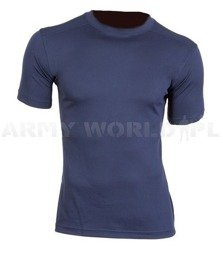 Thermoactive British Army T-shirt Combat Anti-static Navy Blue Used