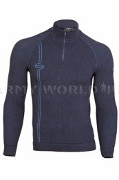 Thermoactive Sweater Prestige BRUBECK Men's Navy Blue New