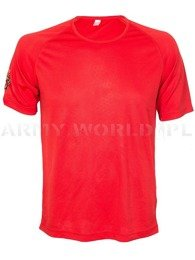 Thermoactive T-shirt Coolmax Kariban Sport  With Badge Red Original Used