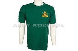Thermoactive T-shirt Coolmax With Badge Dark Green Used