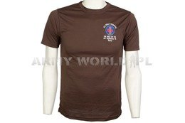 Thermoactive T-shirt Coolmax With Badge Hospital Brown Used
