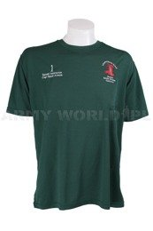 Thermoactive T-shirt Coolmax With Badge Squad Green Original Used