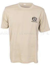 Thermoactive T-shirt Coolmax With Badge Squadron Beige Original Used
