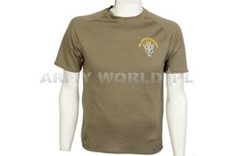 Thermoactive T-shirt Coolmax With Badge The Mercian Regiment Olive Used