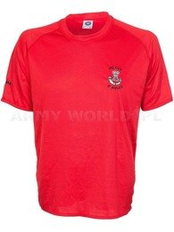 Thermoactive T-shirt Coolmax  With Badge The Rifles Red Used