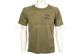 Thermoactive T-shirt Coolmax With Inscription TSU NDA Oliv Used